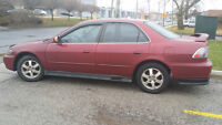 2001 Honda Accord LX Sedan $ 2500 Certified