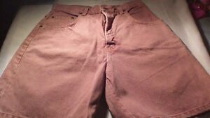 3 pairs womens coloured jean shorts size 14