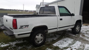 1998 SOUTHERN SILVERADO Z71 SHORT BOX FROM NORTH CAROLINA