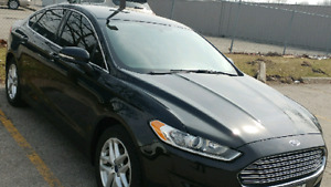2014 FORD FUSION BLACK. LEASE TAKEOVER