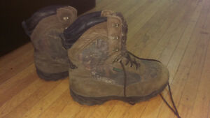 Mossy Oak Boots 20$ (bought them for 200$ from Cabela)