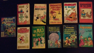 Lot of 11 comic books.