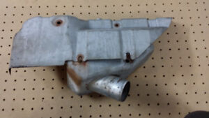 Exhaust manifold shield for Volvo 940 GLE