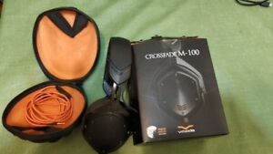 V-moda M100 headphones  used vmoda M100