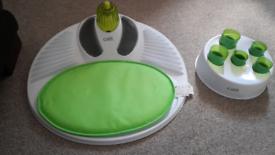 Cat toys catit wellness/massage centre food digger