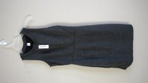 Women Old Navy grey casual office business dress Size XS Petite