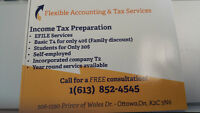 Income Tax Preparation - Bookkeeping and Accounting Services