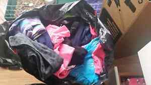 2 huge garbage bags full of brand name girls clothes