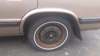 LOST: Hubcap off 1989 K-Car - please help!