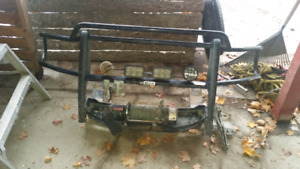 2010 dodge ram front mount winch with Brush guard