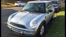 BMW Mini One Auto, Sold as spares or repair