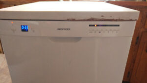 Brada brand portable dishwasher.