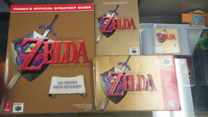 IN BOX Zelda Ocarina of Time For N64 @ Game Cycle East London!!