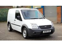 2010 Ford Transit Connect 1.8TDCi Van T200 SWB WHITE