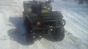 2001 honda 350 rancher 4x4 (with papers)