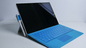 Microsoft Surface Pro 3 - i5 - 8gbRAM - 256GB SSD +Accessories
