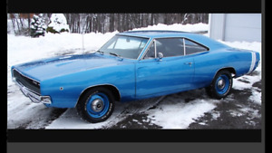 """1968 Charger """"wanted"""""""
