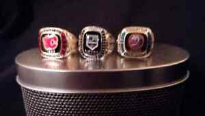 3-NHL Replica Ring's Cornwall Ontario image 1