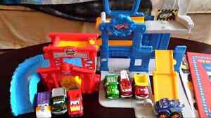 Chuck and friends Playsets