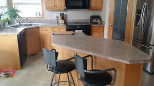 kitchen countertops and island top