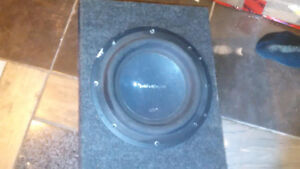 "Punch 12"" P3 2-Ohm DVC sub woofer by  ROCKFORD FOSGATE"