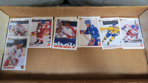 1991-92 NHL UD Canada Cup and Soviet stars rookies