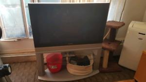 panasonic tv with stand 720p
