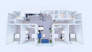 Fully Furnished Foundry Lofts sublet, from May 1 - August 31!