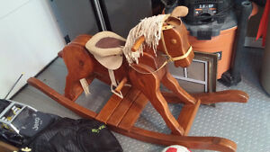 Handcrafted Rocking Horse