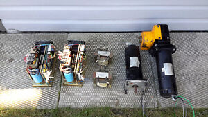 Cnc drive servo motors WESTAMP MT235 and drive complete