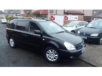 2006 56 KIA SEDONA 2.9 CRDi AUTOMATIC TS 7 SEATER.ROOF MOUNTED DVD PLAYER.F/S/H.