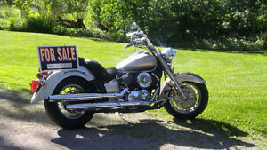 2003 Vstar 1100 with a 2002 parts bike - $1500.00 takes it all