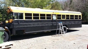 98 Bluebird School Bus/Camper