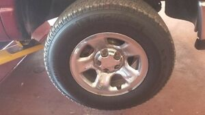 08 ram 1500 4x4 rims and tires