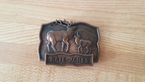 James Bay Belt Buckle