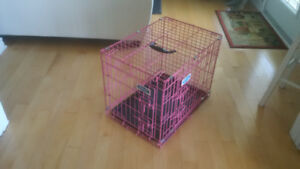 Cage pour chien ou chat comme neuf