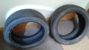 2 Summer Tires - KUMHO, M+S, 215x45xR17,  $50