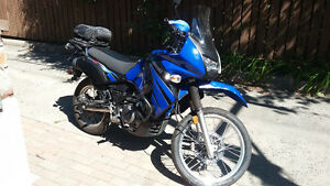 klr 650 with low mileage