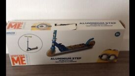 Minions scooter brand new in box