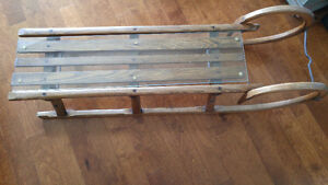 Beautiful Antique Sled Downtown-West End Greater Vancouver Area image 2