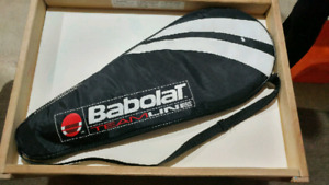 Babolat and Head tennis rackets