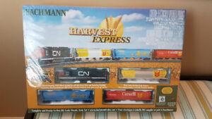BRAND NEW!!  Bachmann Harvest Express Train Set