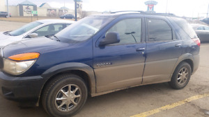 2002 Buick Rendezvous with valid saftey