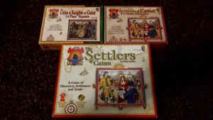 Settlers of Catan Board Game Bundle! Mayfair edition!