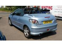 Peugeot 206 1.6 16v Coupe Cabriolet Allure, Full History, Nice Condition, Mot'd