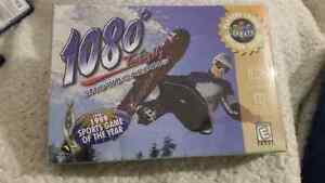 1080 Snowboarding Box and Manual Only