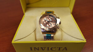 INVICTA SPECIALTY Collection New Chronograph Date Watch 18K