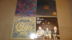 Lot of 4 Like New LP's Records Chicago Queen Zaba Remastered