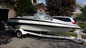 19 ft tempest bowrider inboard outboard