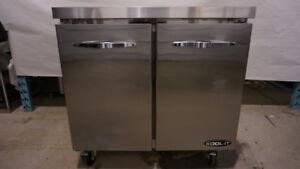 KOOL-IT KUCR-36-2 - 36'' Two Door Undercounter Refrigerator